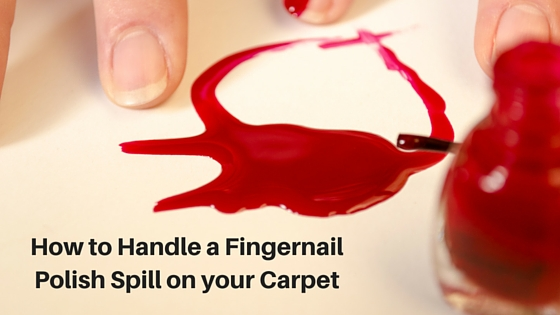 How to Handle A Fingernail Polish Disaster!